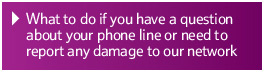 Have a question about your 		phone line or broadband?